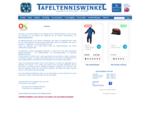 De Tafeltenniswinkel - Tafeltennistafels, tafeltennis artikelen en meer...