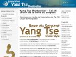 Yang Tse Montpellier - Tai chi chuan de la boxe du serpent