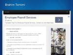 Brahim Tamimi - Consultant en Paie et Gestion des Ressources Humaines