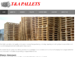 TA PALLETS AS NEW SECOND HAND PALLETS FOR SALE STANDARD AND EURO Home