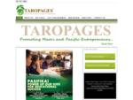 Pacific and Maori Directory, Maori Business Directory, Pacific Business Directory, Taropages