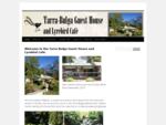 Accommodation and Tea Room | Balook, South Gippsland, Victoria, Australia | Tarra-Bulga Guest H