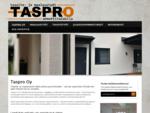 Maalaus- ja tasoitetyöt, julkisivupinnoitukset | Siilinjärvi, Pohjois-Savo | Taspro Oy