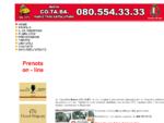 Taxi Bari servizio pubblico con taxi Nuova Cotaba trasporto persone urbano extraurbano e ...