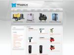 TMAX - Produtos Mineração, Compressores de Ar, Ponteiros, bits, Engates, Marteletes, Torre de