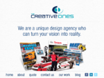 The Creative Ones - Design Agency - Melbourne - Print Media, Web Design, Campaign Management, ..