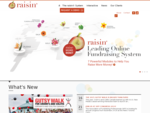 raisin® Online Fundraising | Event Management and Online Donations System