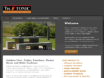 Outdoor Tables, Furniture | Contemporary Outdoor Furniture | Tectonic - Home