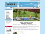 TEICHFOLIE. DE Qualitäts Teichfolien, PVC EPDM Teichfolie, Teichfolie Rechner.