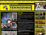 Teknodima - Riparazione telai forcelle Raddrizzatura forcelle moto Ripristino centraggio cerchi in l