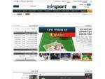 טלספורט Telesport - תוצאות ספורט והמלצות ווינר, אתר הבית של מהמרי ווינר