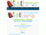 Tennis Ball Dryer, Tennis Gifts, Tennis Accessories online Tennis Equipment Shop
