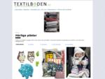 Gardinförsäljning på Internet - Gardiner Panelgardiner Påslakan Tyg Textilier | Textilboden. se