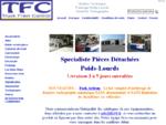 TFC - Vente en ligne de pièces détachées poids lourds - Freinage suspension signalisation.