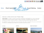 Thealos Villas Lefkada - Luxury villas apartments in Lefkas Greece