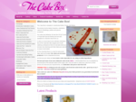 Welcome to The Cake Box - The Cake Box, Wedding and Special Occasion Cakes from Llandrindod Wells