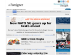 Norway Norwegian News in English The Foreigner on 16th April 2014