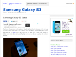 Samsung Galaxy S3 | News – Rumours – Release Date
