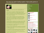 Home - The Lotus Lily, Perth146;s leading supplier of high quality garden art