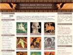 THEOI GREEK MYTHOLOGY, Exploring Mythology the Greek Gods in Classical Literature Art