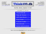 Think400. dk - iSeries (AS400) programmering support.