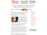 Eyebrow Threading Wellington Salon - Hair Removal Brow Shaping