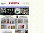 Tiffany Glaskunst Glasdesign Fachgeschäft Versand