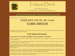 Tinkers Ditch - Home Page