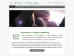 G. Wright's Welding Ltd.