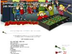 Tischfussballtisch mieten Kicker Wuzzler | 24h Vermietung Verleih