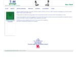 T. M pesage - Vente de mateacute;riel de pesage, trancheurs, hachoirs agrave; viande, poussoirs,