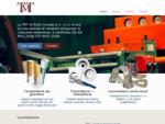 TMT snc, carpenteria da giardino, tranciatura, imbutitura, metalli. Tavernole sul Mella Brescia