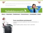 Toimistosavotta raquo; | 15. 04. 2014 | toimistokoneet, monitoimilaitteet, toimistokalusteet,