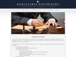 Czynności notarialne - Kancelaria Notarialna Notariusz Tomasz Karaś