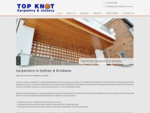 Top Knot Carpentry Joinery | Carpentry Sydney, Joinery Sydney