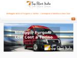 Top Rent Italia noleggio auto, furgoni, minibus a Torino