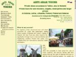 Ahti Arak Tours | Private Tours in Estonia, Finland, Baltic States, Poland, Belarus, etc