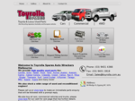 TOYROLLA SPARES - Quality Used Toyota Parts, Used Car Parts, Used Auto Parts, Toyota Wreckers
