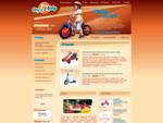 Toys4kids - rowery dla dzieci, zabawki ogrodowe Kettler, hulajnogi, samochodziki, place zabaw,