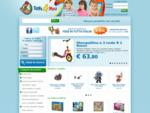 Toysforyou, migliaia di prodotti nel negozio online di giocattoli