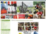 TPGozd Profesionalni gozdarski stroji in oprema