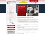 Custom Trailers | Trailer Manufacturer | Custom Made Trailers | Trailers Only | Melbourne Austra
