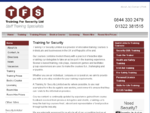 Training for Security SIA Training, Security Training, First Aid Training, Health and Safety ...