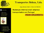 Mudanças Internacionais | Transportadoras Mudança Empresas Portugal