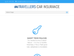 Travellers Car Insurance Short Term Car Insurance