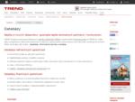 Databázy | TREND Analyses | O nás | TREND. sk