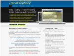 TrendProphecy Trend Trading Emini Futures or FX Currency Forex Interbank Market - Day ...