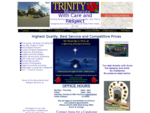 Trinity Monuments , with Care and Respect