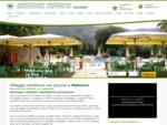 Residence a Palinuro nel Cilento Campania . Villaggio turistico immerso nel verde con appartamenti e case vacanze con piscina, animazione, miniclub. ..