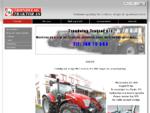 Trøndelag Traktor as - Maskiner og utstyr for jordbruk, skogbruk, hage, park og entreprenører - T